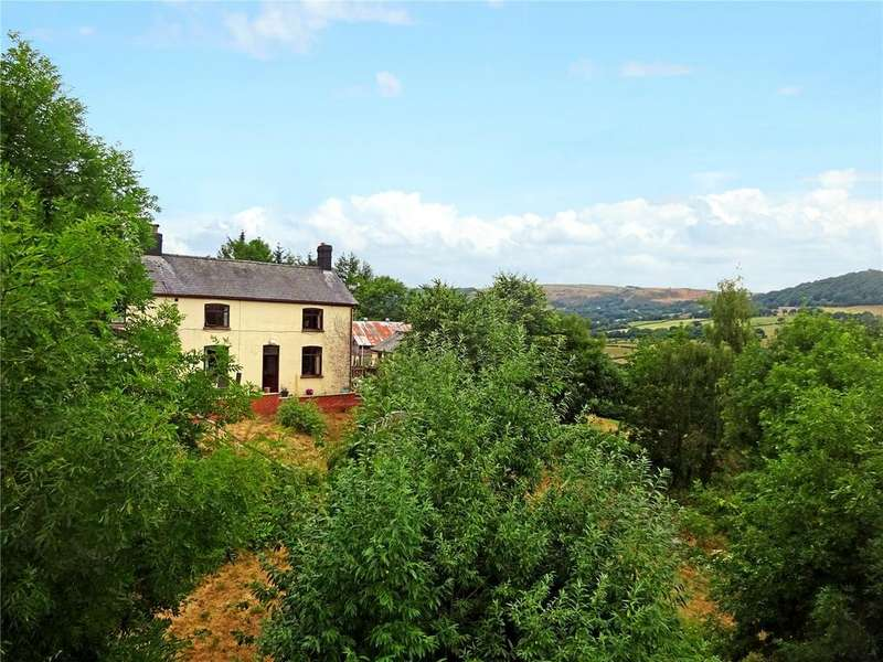 4 Bedrooms Detached House for sale in Pontdolgoch, Caersws, Powys
