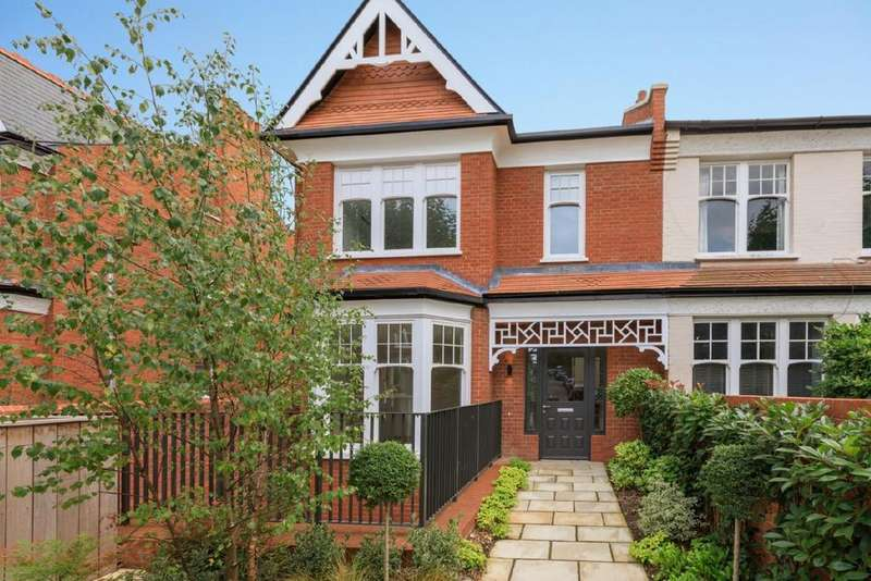 4 Bedrooms Town House for sale in The Gatehouse, Woodside Square, Muswell Hill