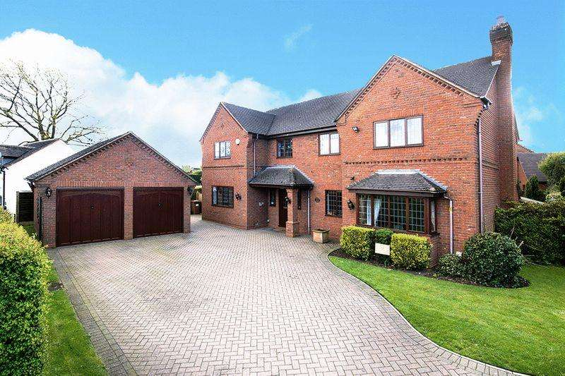 5 Bedrooms Detached House for sale in Burntwood Road, Hammerwich