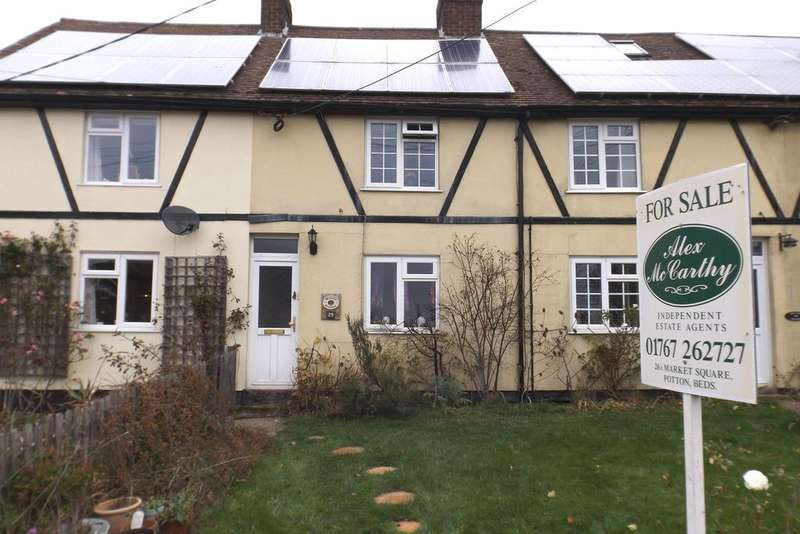 2 Bedrooms Terraced House for sale in Village Road, Cockayne Htley SG19