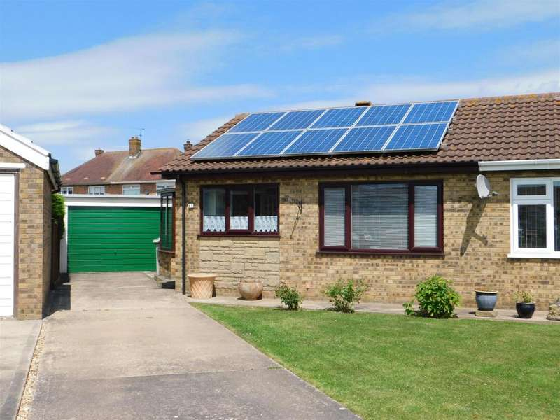1 Bedroom Semi Detached Bungalow for sale in Martin Way, Winthorpe, Skegness, Lincs, PE25 1EN