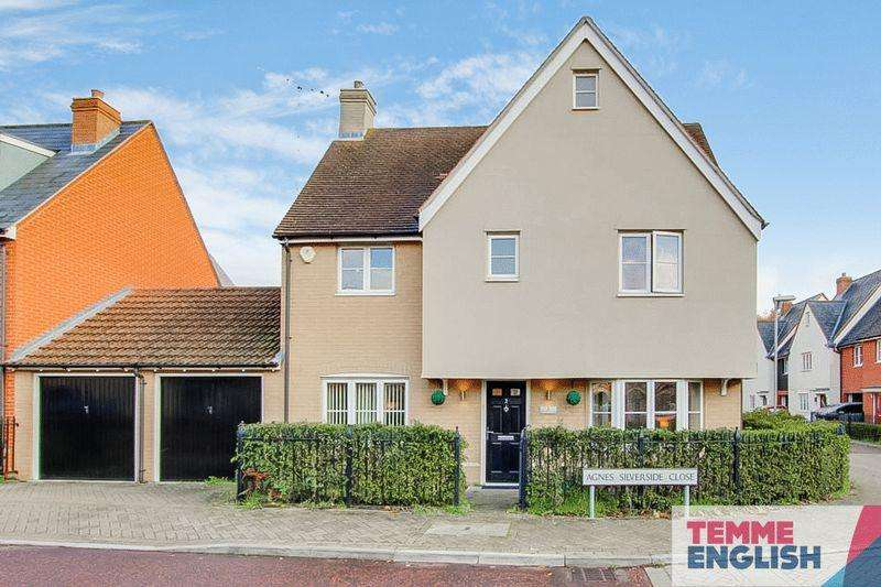 4 Bedrooms House for sale in Agnes Silverside Close, Colchester