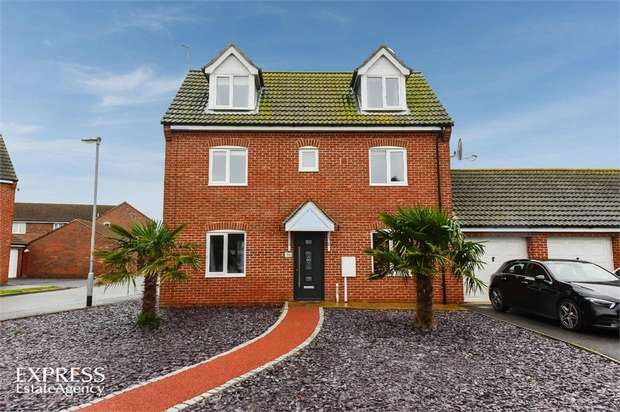 4 Bedrooms Link Detached House for sale in Monarchs Road, Sutterton, Boston, Lincolnshire