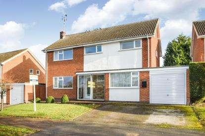 4 Bedrooms Detached House for sale in The Square, Newton Harcourt, Leicester, Leicestershire