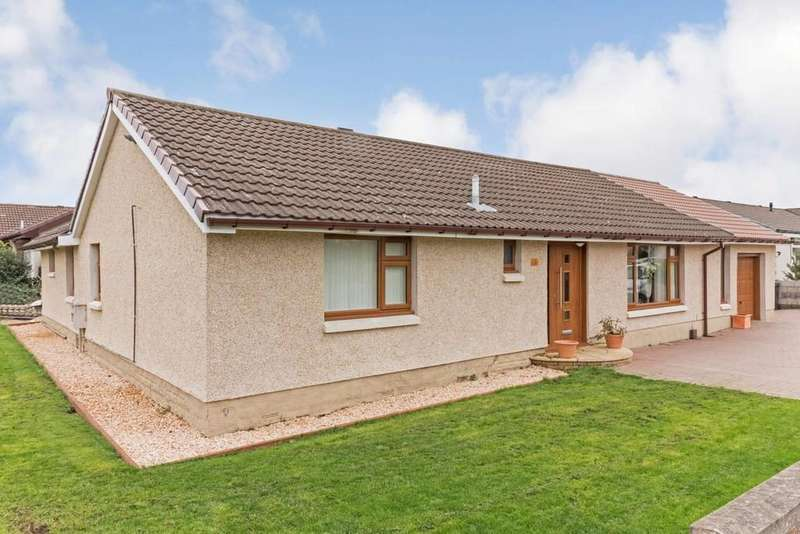 4 Bedrooms Detached Bungalow for sale in 14 Camdean Crescent, Rosyth, KY11 2TJ