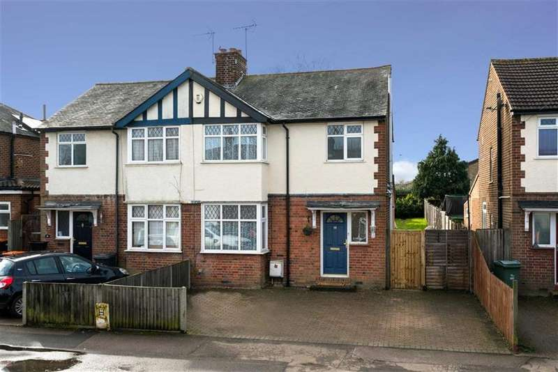 3 Bedrooms Semi Detached House for sale in Front Street, Slip End, Beds