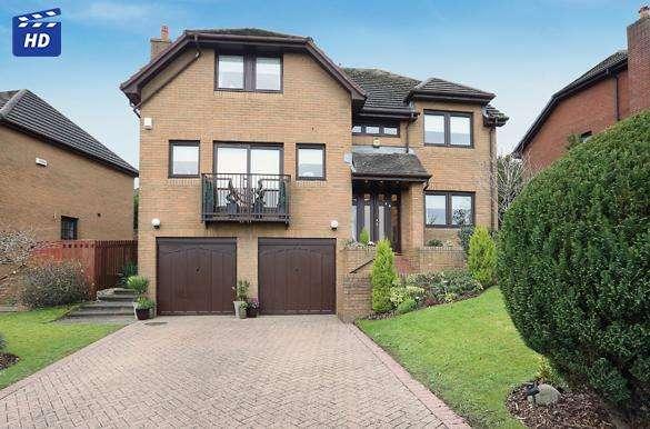 5 Bedrooms Detached House for sale in 68 Moorfoot Way, Bearsden, G61 4RL