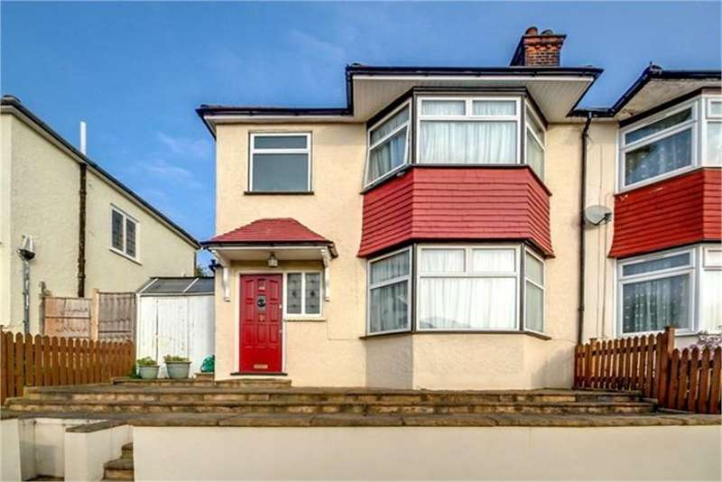 3 Bedrooms Semi Detached House for sale in Dollis Hill Avenue, London, NW2