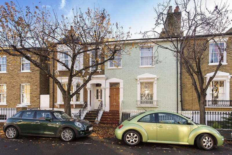 4 Bedrooms Terraced House for sale in Tavistock Terrace, Tufnell Park, London, N19