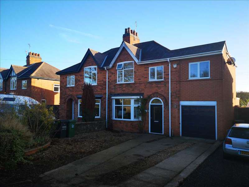 4 Bedrooms Semi Detached House for sale in Cropston Road, Anstey