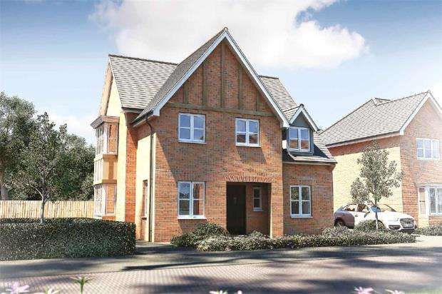 4 Bedrooms Detached House for sale in Sandhurst Gardens, High Street, Sandhurst