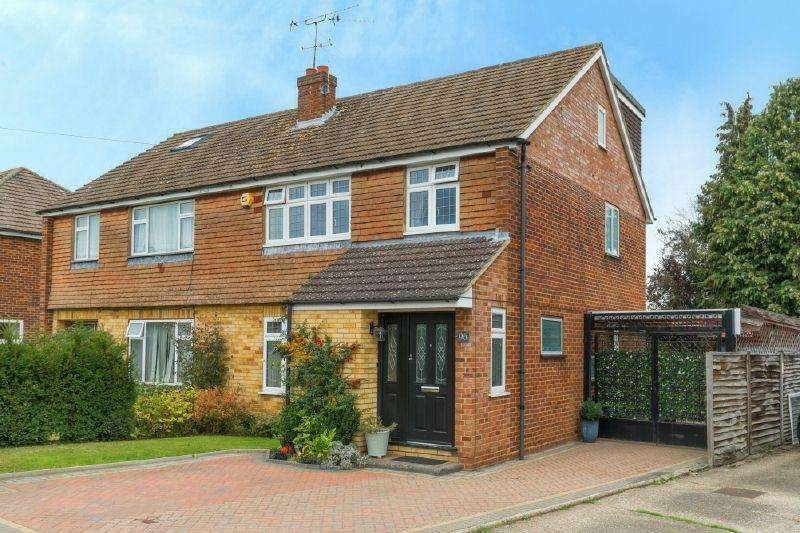 5 Bedrooms Semi Detached House for sale in Westwood Drive,Little Chalfont