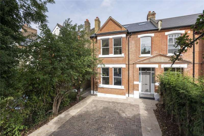 5 Bedrooms Semi Detached House for sale in Queens Road, London, SW19