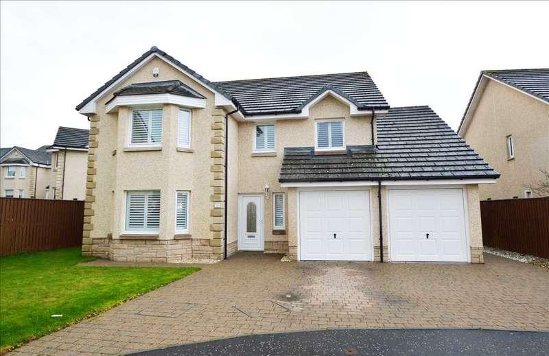 4 Bedrooms Detached House for sale in Macinnes Drive, Motherwell