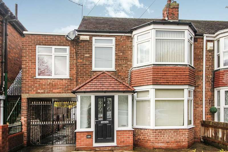 4 Bedrooms Semi Detached House for sale in Gillshill Road, Hull, HU8