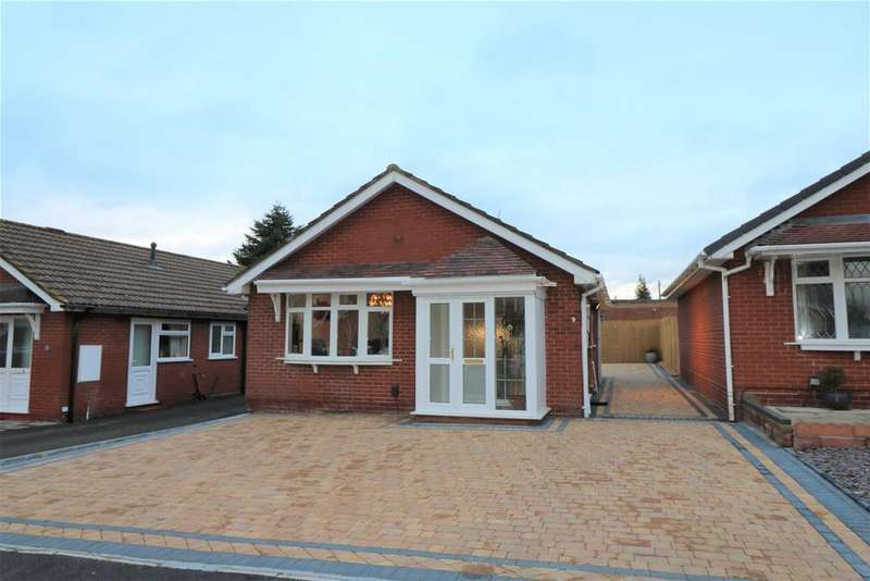 2 Bedrooms Detached Bungalow for sale in The Homestead, Baddeley Green, Stoke-On-Trent