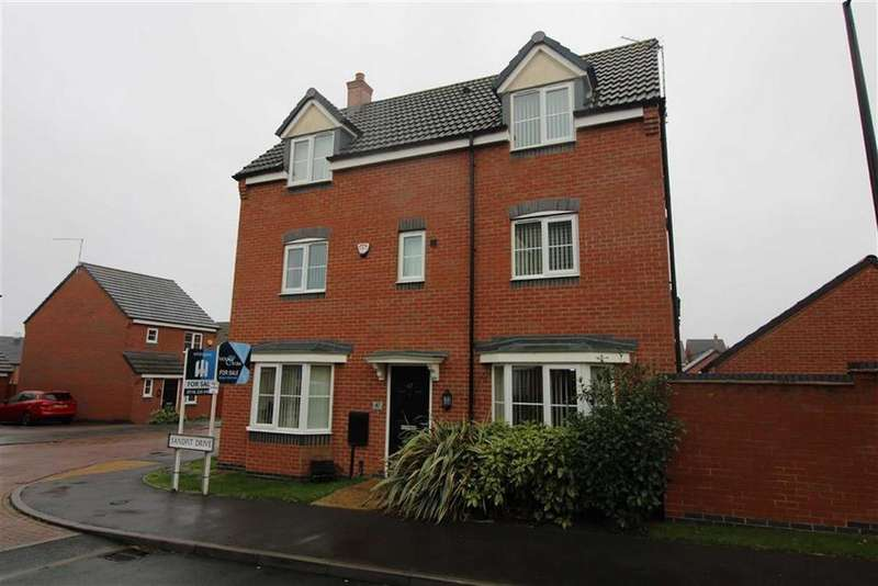 4 Bedrooms Detached House for sale in Sandpit Drive, Birstall