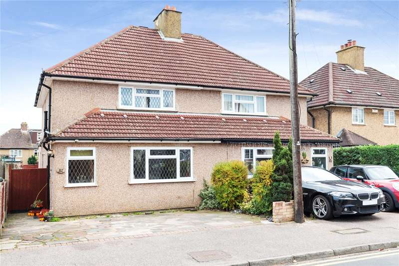 3 Bedrooms Semi Detached House for sale in Springfield Close, Croxley Green, Rickmansworth, Hertfordshire, WD3
