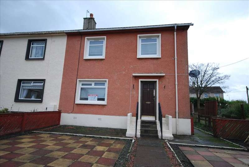 3 Bedrooms Semi Detached House for sale in Dykes Place, Saltcoats