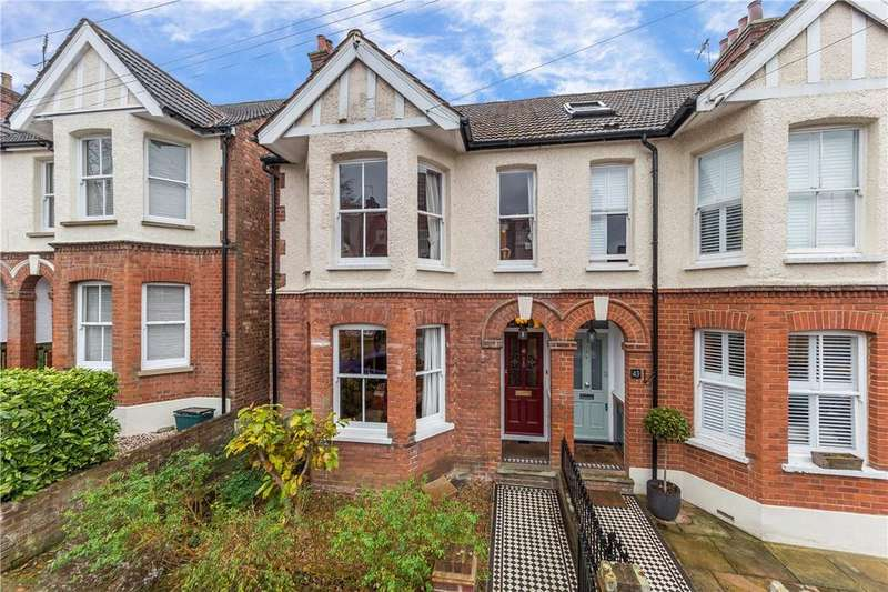4 Bedrooms Semi Detached House for sale in Carlisle Avenue, St. Albans, Hertfordshire