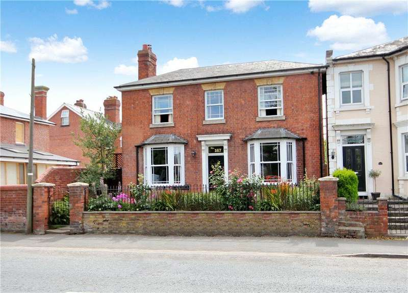 3 Bedrooms Detached House for sale in Whitecross Road, Hereford, HR4