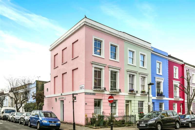 4 Bedrooms End Of Terrace House for sale in Falkland Road, London