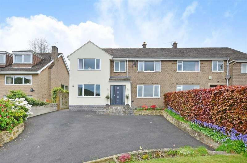 4 Bedrooms Semi Detached House for sale in Starkholmes Road, Matlock
