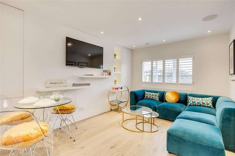 2 Bedrooms Flat for sale in Cathcart Road, Chelsea