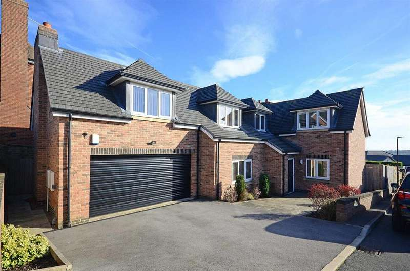 4 Bedrooms Detached House for sale in Derwent Close, Dronfield