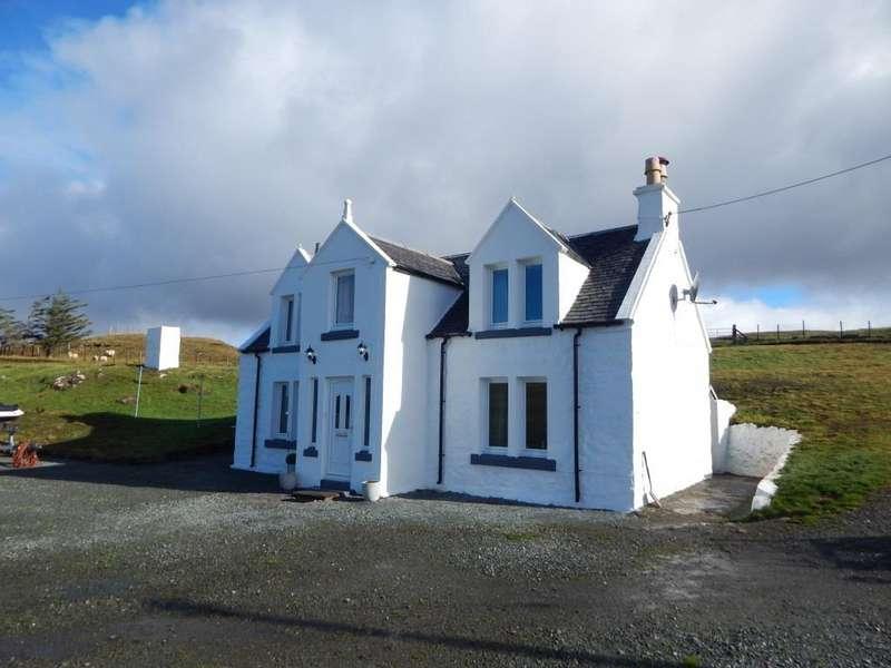 4 Bedrooms Detached House for sale in Upper Milovaig, Glendale, Isle of Skye IV55