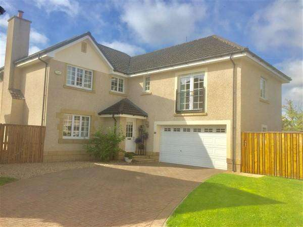 5 Bedrooms Detached Villa House for sale in Grayston Manor, Chryston, Glasgow, G69 9JW