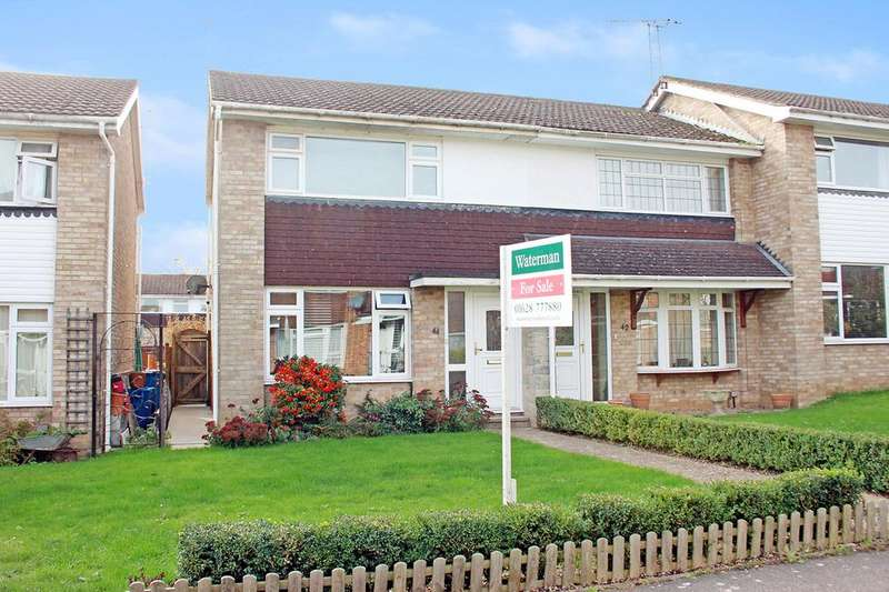 2 Bedrooms End Of Terrace House for sale in Hambleden Walk, Maidenhead SL6