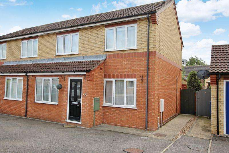 4 Bedrooms Semi Detached House for sale in 3 Rossington Close, Metheringham