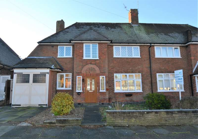 3 Bedrooms Semi Detached House for sale in Rowley Fields Avenue, Rowley Fields, Leicester LE3