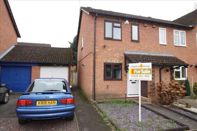 2 Bedrooms Terraced House for sale in Jellicoe Close, Windsor Meadows, Cippenham