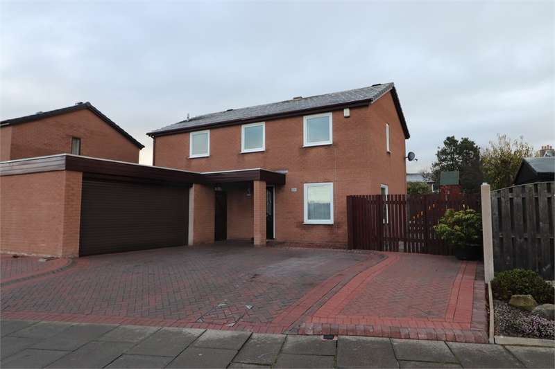 4 Bedrooms Detached House for sale in CA3 0QD Ritson Close, Lowry Hill, CARLISLE, Cumbria