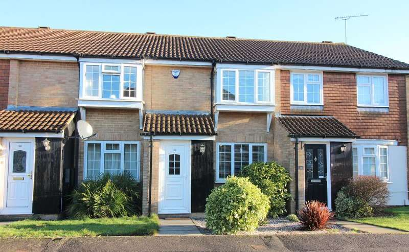 2 Bedrooms Terraced House for sale in Renshaw Close, Luton, Bedfordshire, LU2 8TD