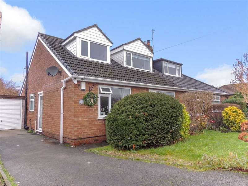 4 Bedrooms Semi Detached House for sale in Begley Close, Romiley, Stockport