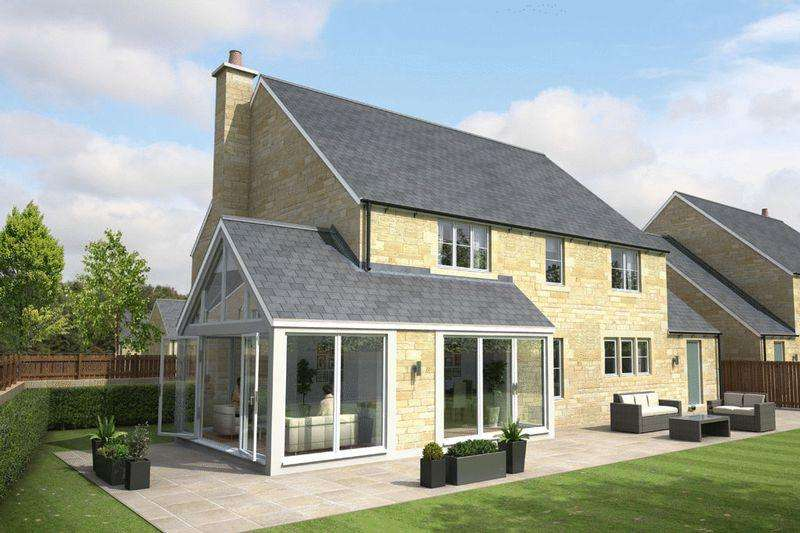 5 Bedrooms Detached House for sale in Foxton Glade, Lesbury, Alnwick
