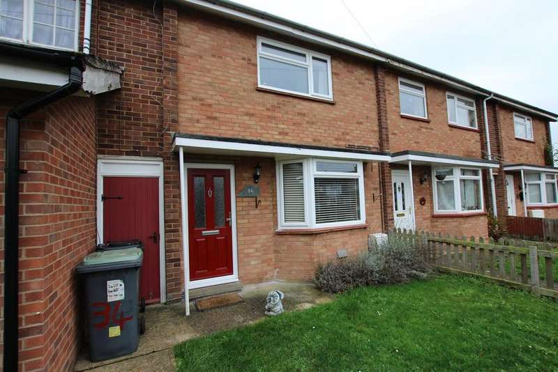 2 Bedrooms Terraced House for sale in Denny Crescent, Langford, Biggleswade, SG18