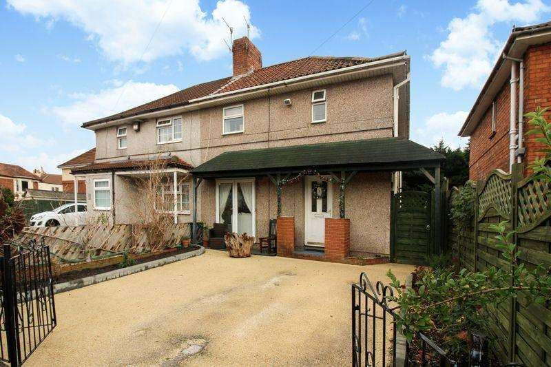 3 Bedrooms Semi Detached House for sale in Bower Walk, Bedminster, Bristol