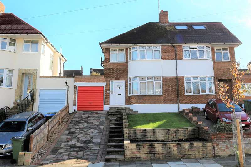 3 Bedrooms Semi Detached House for sale in Brownspring Drive, London, SE9 3JY