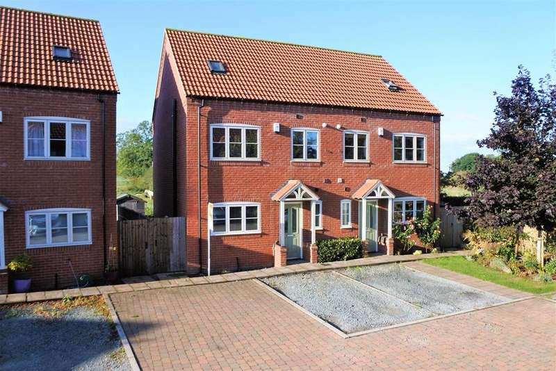 3 Bedrooms Semi Detached House for sale in Moreton Close, Great Gonerby, Grantham