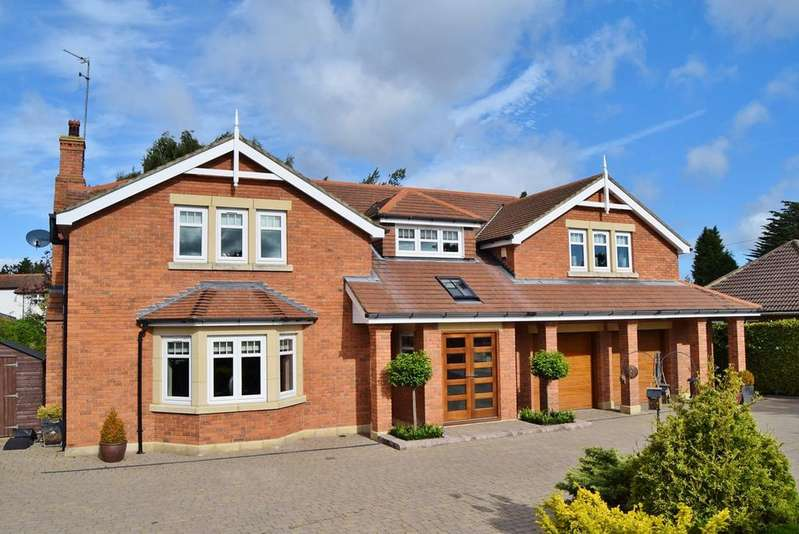 5 Bedrooms Detached House for sale in Middle Drive, Darras Hall, Ponteland, Newcastle upon Tyne, NE20