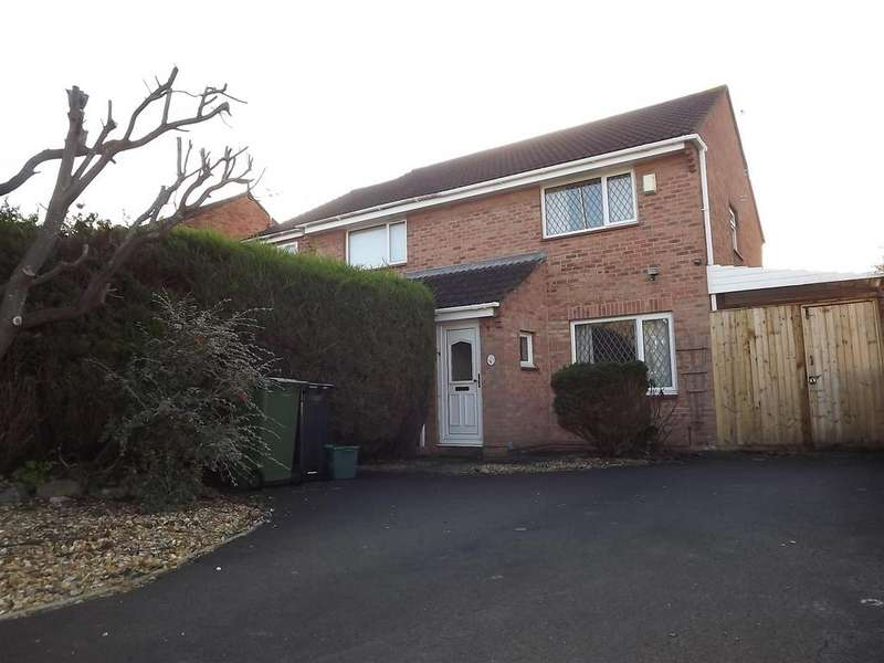2 Bedrooms Semi Detached House for sale in Long Beach Road, Longwell Green, Bristol, BS30 9YD