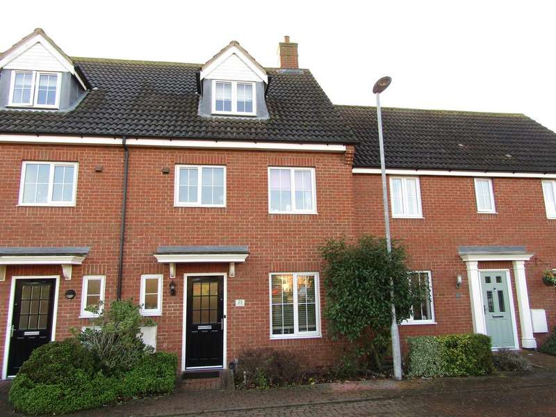 4 Bedrooms Town House for sale in St Johns Road, Arlesey, SG15 6ST