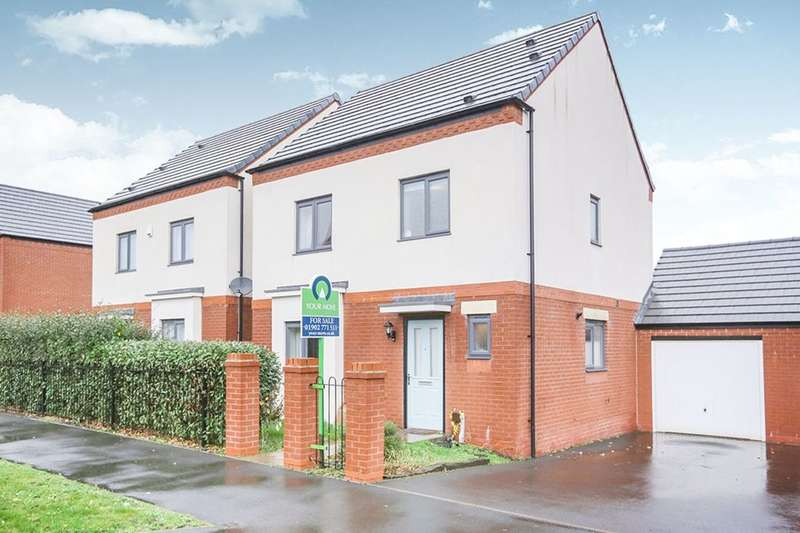 3 Bedrooms Detached House for sale in Coningsby Drive, Wolverhampton, WV2