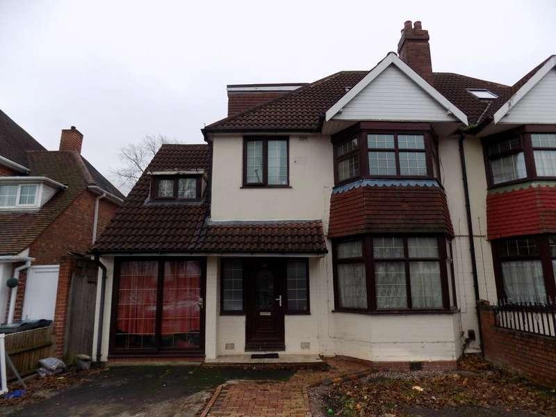 5 Bedrooms Semi Detached House for sale in Wellsbourne Road, Handsworth, Birmingham B20