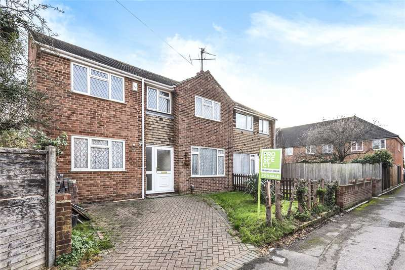 4 Bedrooms Semi Detached House for sale in Heatherden Close, Reading, Berkshire, RG2