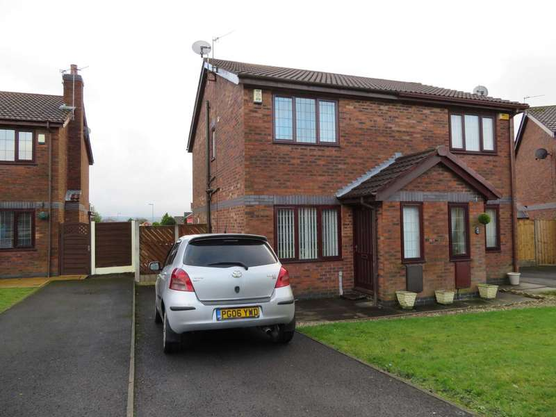 2 Bedrooms Semi Detached House for sale in Edgemore Close, Watersheddings.
